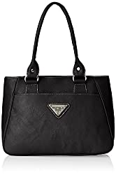 Fostelo Women's Mentoz Shoulder Bag (Black) (FSB-332)