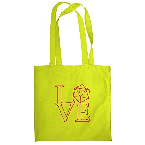 Texlab–RPG Love–sacchetto di stoffa Gelb
