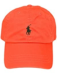 Casquette Ralph Lauren orange mixte