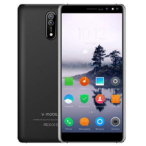 "Smartphone Libres Baratos - 5.5"" HD 18:9 Pantalla Completa Dual SIM 4G Android 7.0 8.0MP Cámara 16 GB ROM 2800mAh..."
