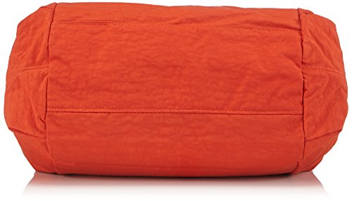 Kipling PRAVIA Damen Schultertaschen 41x32x11 cm (B x H x T) Mehrfarbig (Sunbrnt Orange)