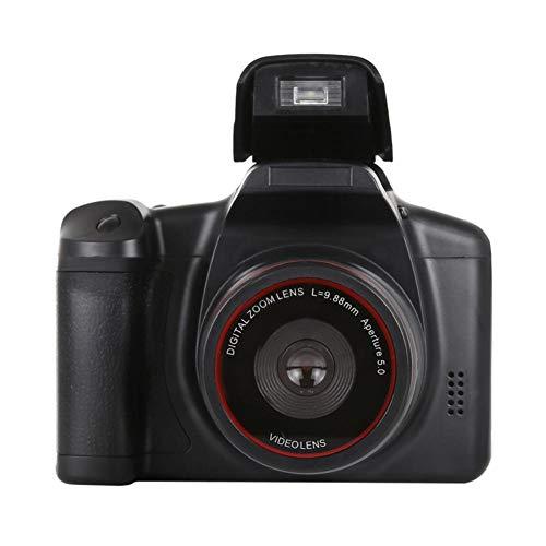 ZHUOTOP HD SLR Camera 2.4 Inch TFT LCD 720P CMOS Sensor Telephoto Digital Camera Fixed Lens 16X Digital Zoom AV Interface Battery Power