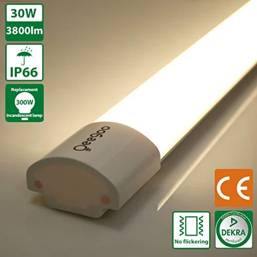 Oeegoo Plafoniera LED da Officina, 30W 120CM...