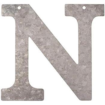 Metall Buchstabe Z verzinkt Höhe 12 cm