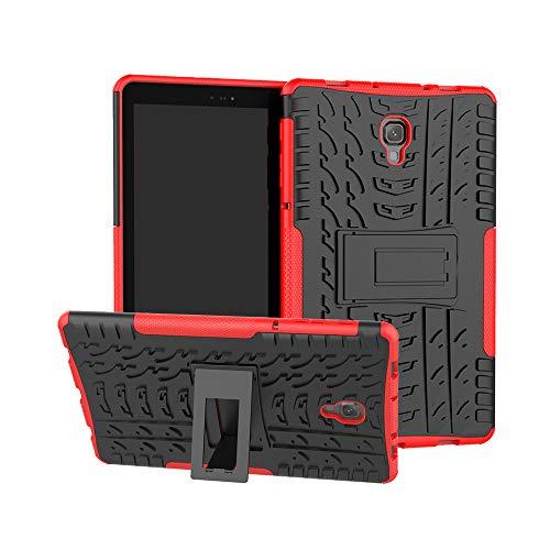 ZERMU Schutzhülle für Galaxy Tab A 10,5 Zoll 2018, stoßfest, ultradünn, langlebig, Hartplastik, mit Ständer, Armor Defender Stoßschutz, Kratzfest, für Samsung Galaxy Tab A 10.5 SM-T590/SM-T595 Logitech Wi-fi Wireless