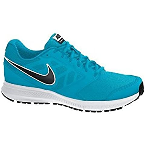 Nike Downshifter 6 MSL - Zapatillas de running para hombre, color azul / blanco / negro