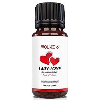 Lady Love - Globuli für die Frau - Lust & Liebe - radionisch informiert - 100% natürlich