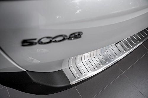 Preisvergleich Produktbild Tuning-Art L356 Edelstahl Ladekantenschutz mit Abkantung fahrzeugspezifische Passform