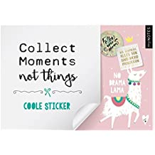myNOTES Stickerheft Collect moments not things: Coole Sticker