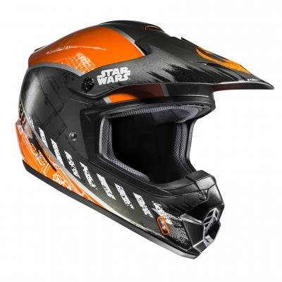 HJC – 17730708/162 : HJC – 17730708/162 : Casco enduro offroad motocross CSMX II REBEL X-WING STAR WARS MC7 COLOR STARWARS-7 TALLA M