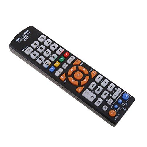D DOLITY Universalfernbedienung, Steuerung von 8 Endgeräten, Zum Beispiel TV, Videorecorder, Audiogeräte usw.