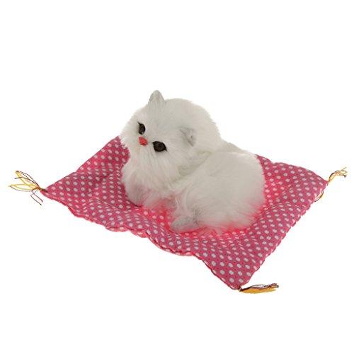 rosa-tappeto-pad-con-gatto-bianco-artificiale-realistico-di-peluche-per-bambini-giocattoli-casa-orna