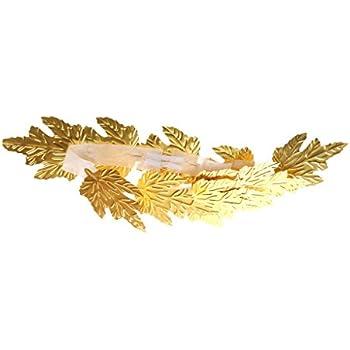 Romano Dea Greca Oro Foglia CORONA DI ALLORO Copricapo Toga Costume