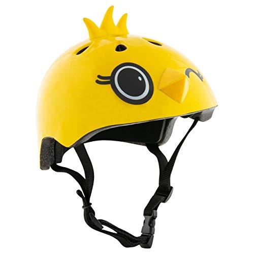 HUDORA Fahrrad-Helm Kinder Kiki, Gr. 51-53 gelb