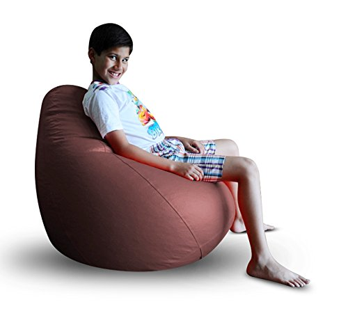 Style Homez Classic Bean Bag XL Size Maroon Color Cover Only  available at amazon for Rs.959
