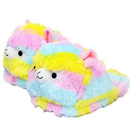 Cute Animal Elephant Slippers, Winter Home Warm Non-Slip Cotton Slippers