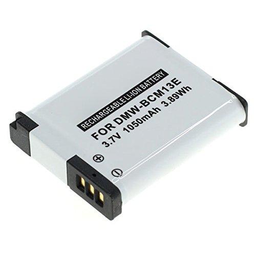 subtel® Qualitäts Akku für Panasonic Lumix DMC-TZ71 -TZ70, DMC-TZ61 -TZ60, DMC-TZ58 -TZ56 -TZ55, DMC-TZ41 -TZ40, DMC-TZ37, DMC-FT5, DMC-ZS60, DMC-ZS50, DMC-ZS45 -ZS40, DMC-ZS35 -ZS30 -ZS100, DMC-LZ40, DMC-TS6 -TS5 (1050mAh) PABCM13-1,DMW-BCM13 Ersatzakku Batterie