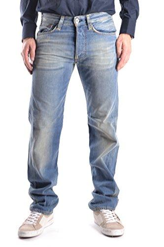 Evisu Herren Mcbi338005o Blau Baumwolle Jeans