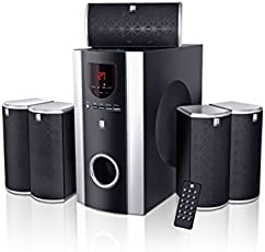 iBall Booster BTH 5.1 Channel Multimedia Bluetooth Speakers