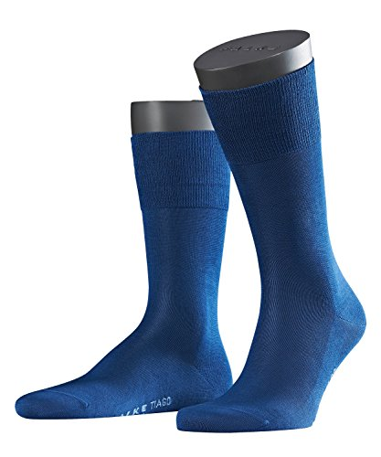 FALKE Herren Socken Tiago, Gr. 43/44, Blau (royal blue 6000) (Kids Bekleidung Royal Blue)