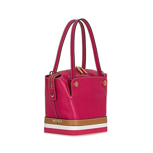 Arcadia designer Luminosa sac à main en cuir d'été Rose