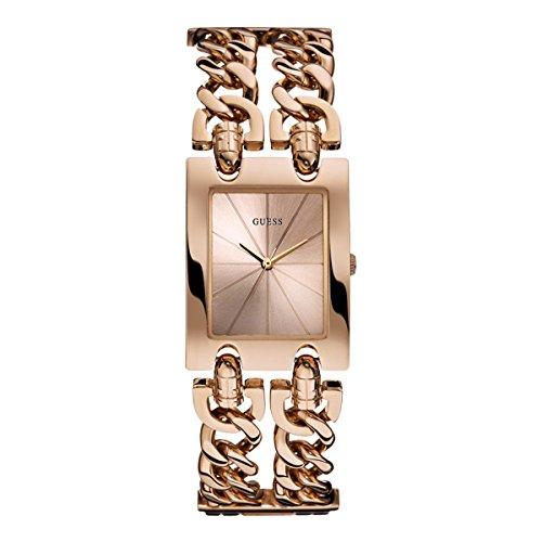 avy Metal-w1117l3Armband zwei Ketten-Zifferblatt Gold Rosa ()