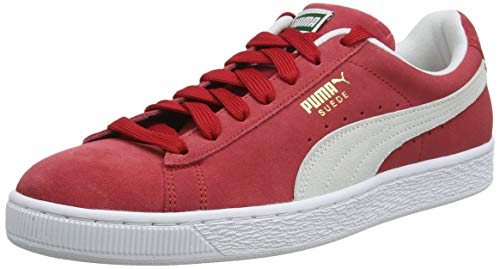 Puma - Suede Classic+ - Baskets mode - Mixte Adulte - Rouge (team regal red-white) - 43 EU