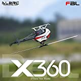 Mobiliarbus ALZRC X360 FBL Brushless ESC Standard Combo 6CH 3D Flying RC Kit Elicottero con 2525 Motore V4 50A per Elicottero RC
