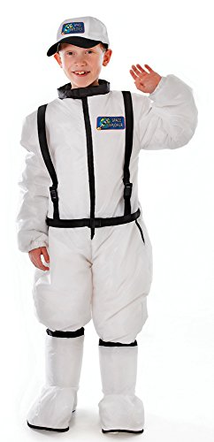 Bristol Novelty CC092 Astronaut Kostüm, Weiß