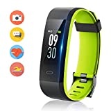 HolyHigh Smart Fitness Band 115Plus Fitness Tracker Watch with Heart Rate Monitor Sport