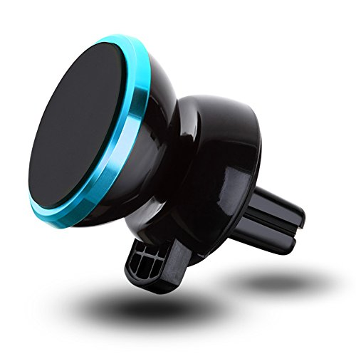 RG Auto Halterung Magnetischer Telefonhalter Wiege Entlüftung Universal-für iPhone und Android Tablet PSP (Blau Verbessertes Design)
