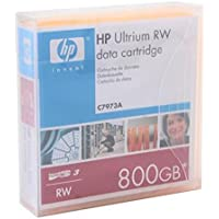 Cartucho unidad banda HP LTO Ultrium 3400/800GB C7973A