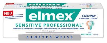Elmex Sensitive Professional, Zahncreme - 75 ml