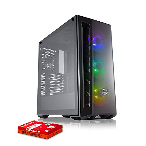 Fierce Demon High-End RGB Gaming PC - Schnell 4.2GHz Hex-Core AMD Ryzen 5 3600, 480GB Solid State Drive, 16GB 3000MHz, AMD Radeon RX 5700 XT 8GB, Windows Nicht Enthalten 1136392 Xt Bundle