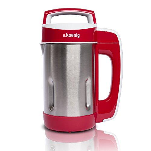 H.Koenig MXC18 Blender Chauffant et Programme de Cuisson Polyvalent Soupe,Compote, Smoothies aux...