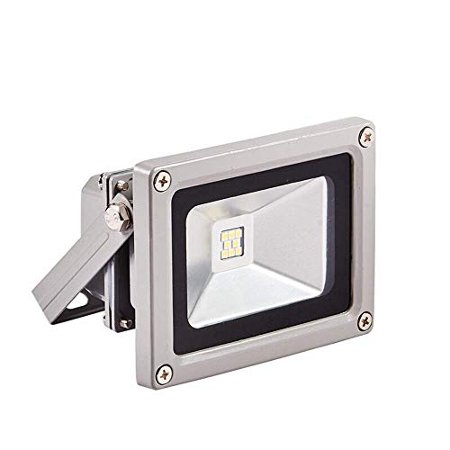 NIAI Außenbeleuchtung Außenbeleuchtung LED-Licht Wasserdicht Tageslicht Weiß [Energieklasse A ++] Sicherheitsbeleuchtung Fabrikplanung Gewerbliche Landschaftsprojektion Leuchte 120 ° Abstrahlwinkel