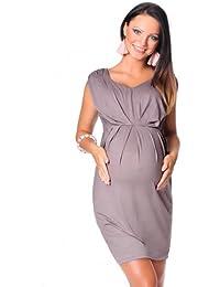 1c55879fa60e8a Purpless Maternity Stunning Sleeveless V Neck Pregnancy Maternity Dress 8437