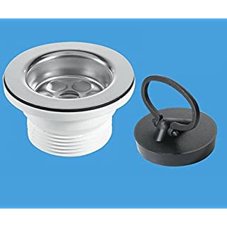 MCALPINE KITCHEN SINK WASTE & PLUG SET