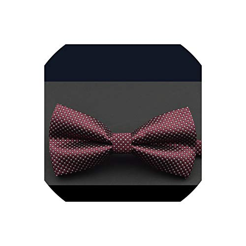Bow Tie Men Red And Black Tartan Groom Marry Wedding Party Colorful Striped Butterfly Cravats Mens,N07 -