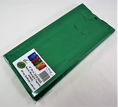 BORSE SATINATE MANIGLIA MORBIDA per CONFEZIONE REGALO e ASPORTO diverse misure e colori ROSSO, 25x30 50 pz