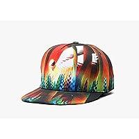 Lady Hat Hip-Hop Hip-Hop-Kappe Baseballmütze Lady Hiphop3d Wärmeübertragung Hat