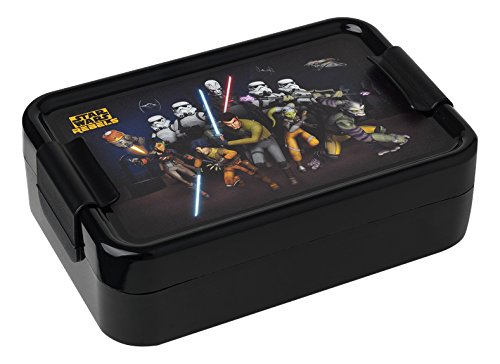 Star Wars 30500050 Rebels Brotdose Kunststoff, schwarz