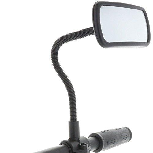 Smart-Planet® Hochwertiger Fahrradspiegel Rückspiegel für Fahrrad , Mofa , Rollstuhl , Rollator , Roller / Spiegel Nr.: 324085