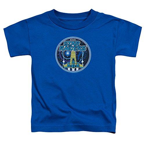 Atari Kleinkind-Abzeichen-T-Shirt, 2T, Royal Blue (Royal Kleinkind T-shirt Blue)
