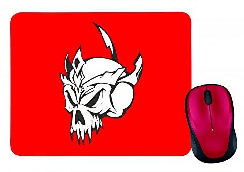 Schädel mit Dornenkrone Skelett Rocker Motorradclub Gothic Biker Skull Emo Old School