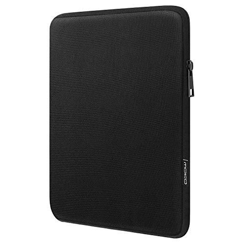 MoKo 7-8 Zoll Hülle Passend für 7-8 Inch Kindle E-Reader/Amazon Tablet, Sleeve Schutzhülle aus Polyester Tasche Geeignet für All-New Fire 7 2019/2017, Fire HD 8 2018, Kindle 8th Gen 2016 - Schwarz