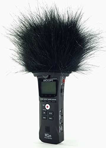 Master Sound ZOOM H1n TOP Model, Professional Three Layers Furry Windscreen with Acoustic Foam Technology for recorder ZOOM H1n. Zoom Technologies