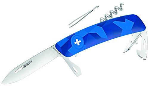 SWIZA Schweizer Messer C03 Livor Camo Urban Blue, One Size
