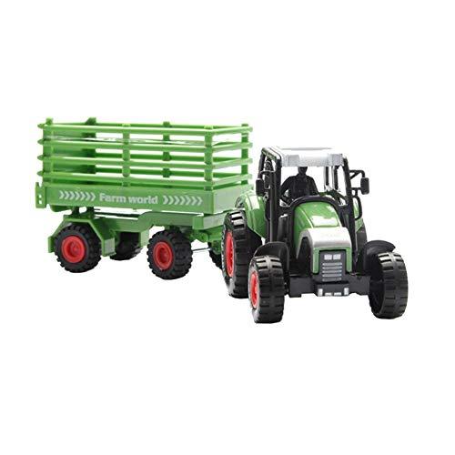 Tirer Retour Véhicules-Jouet Voiture Alloy Miniature À Friction Camion Farmer Tractor Mini,Modèle De Cadeau De Voiture Pour Enfants