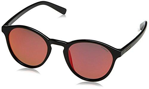 Polaroid pld 6013/s, occhiali da sole unisex adulto, nero (shiny black), 50